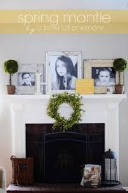 Fireplace Mantel Decoration by Fireplace Makeover Before And After Brass Fireplace Screen Red