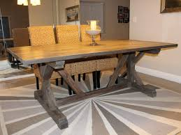 kitchen table oval farmhouse with bench wood storage 4 seats