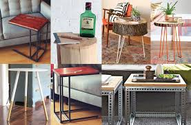 bedroom end table decor diy end table ideas top 5 easy and cheap projects minimalist