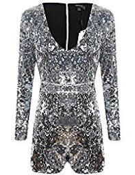 sleeve sequin jumpsuit amazon com silvers jumpsuits rompers jumpsuits rompers