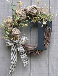best 25 letter wreath ideas on letter door wreaths
