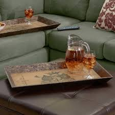Tray For Coffee Table Decorative Trays You U0027ll Love Wayfair Ca