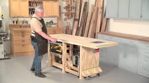 power tool friendly bench youtube