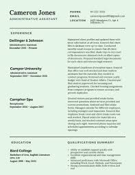 Best Resume Examples For Administrative Assistant by Best Resume Format 2017 Template Learnhowtoloseweight Net