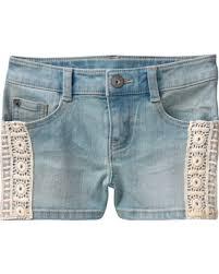 light wash denim shorts savings on s crochet denim shorts by crazy 8 light wash denim