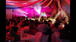 wedding dinner open hall decoration youtube
