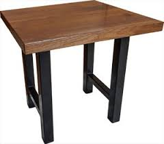 Wood Slab End Table by Amish Coffee Tables Ohio Amish Made Mission Shaker