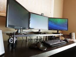 computer desk monitor shelf best 25 monitor stand ikea ideas on