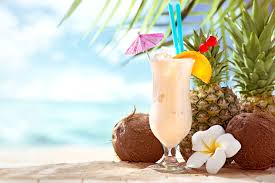 cocktail drinks on the beach 10 tasty fun and easy coconut cocktails