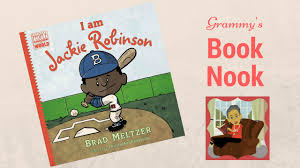 i am jackie robinson children u0027s books read aloud youtube