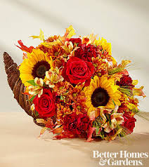 harvest cornucopia ftd fall harvest cornucopia by better homes and gardens premium