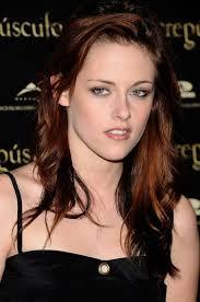textured shoulder length hair kristen stewart layered shoulder length red tinted hairstyle