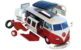 volkswagen models van airfix quick build vw camper van model kit j6017 13 49