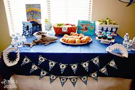 party table real party shark party renee s soirees