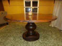 copper top dining table at the missing piece