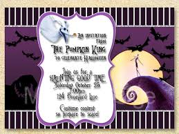 nightmare before christmas wedding invitations skellington invitation nightmare before christmas