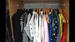 tutorial how to organise your wardrobe youtube