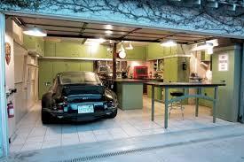 corner wood corner metal good idea for big garage furniture