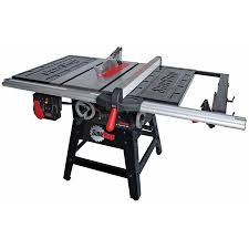sawstop professional cabinet saw 1 75 hp sawstop 1 75 hp contractor saw cns175 tgp36 acme tools