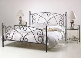 chambre fer forgé lit fer forgé coloris bronze doré comtesse lit fer forgé et métal