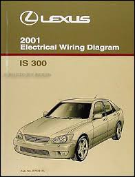 2001 lexus is 300 wiring diagram manual original