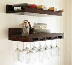 ideas holman shelf home goods wine racks pottery barn wine rack