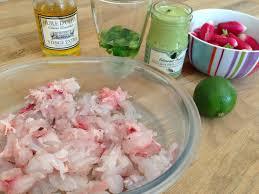 cuisine legere et dietetique recette diététique et légère poisson mariné au citron vert