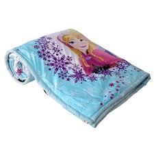 single bed comforter cartoon print frozen ac dohar u0026 comforter