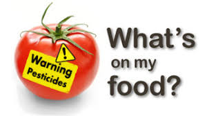 what s what s on my food pesticides on food