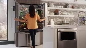 kitchenaid cabinet depth refrigerator designing the new kitchenaid counter depth refrigerator appliance