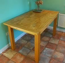 Handmade Kitchen Table 93 Best Handmade Tables Images On Pinterest Handmade Table Oak