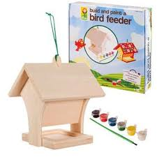 amazon com toysmith build u0026 paint bird feeder wild bird tube