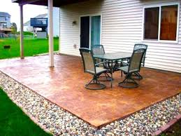 Cement Designs Patio Backyard Backyard Decorating Ideas Pinterest Backyard Cement