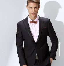 tenue mariage dã contractã homme vente en gros les hommes élégants boutonnière costume un grain de