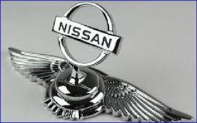 nissan logo vog chrome bentley style ornament