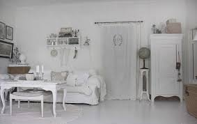elegant shabby chic living room with white furniture set howiezine