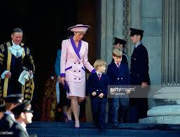 Princess Diana S Sons by Diana William Harry St Pauls Pictures Getty Images