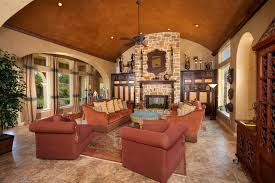 Austin Tuscan Style Furniture Family Room Mediterranean With - Tuscan style family room