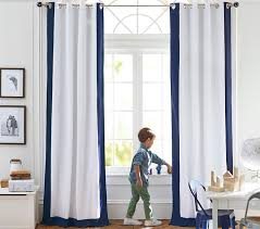 color bordered blackout panel pottery barn kids