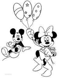 printable minnie mouse coloring pages kids cool2bkids