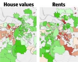 Zillow Value Map Rent Prices Down While Home Values Up In Southern Illinois Near St