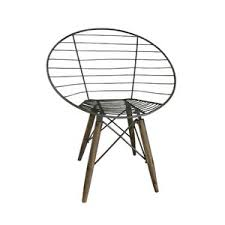 modern u0026 contemporary wire chair allmodern