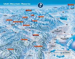 New York Ski Resorts Map by Utah Ski Resort Map New York Map