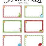 free christmas templates printable gift tags cards crafts with