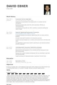 public affairs specialist resume customer service specialist resume samples visualcv resume
