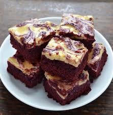 red velvet cheesecake swirl brownies kitchen nostalgia