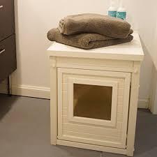ecoflex jumbo litter loo hidden kitty litter box end table ecoflex litter loo litter box cover end table the pet league