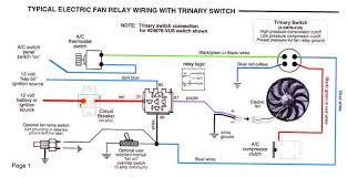 spal fan relay wiring diagram spal wiring diagrams