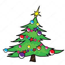 christmas tree illustrations clipart 20