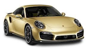 porsche gold gold porsche 911 turbo aerokit car png image pngpix